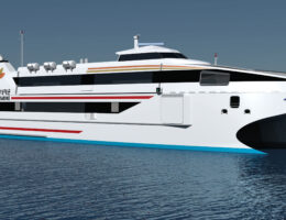 New 76 metre ferry for the Republic of Korea